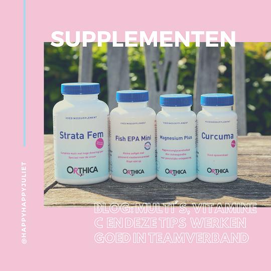 Supplementen bescherm je lichaam van binnenuit tegen corona