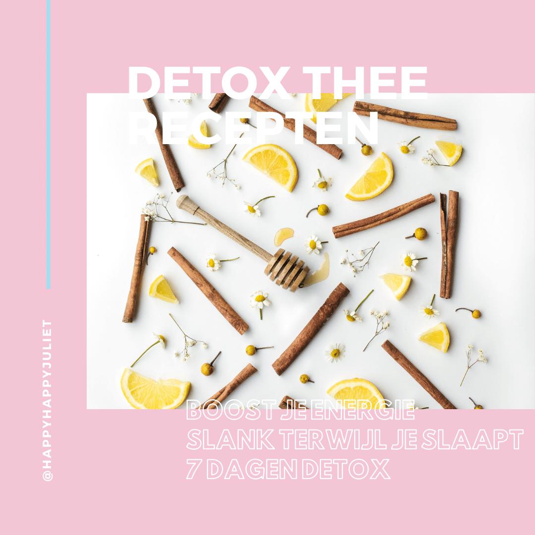 Detox thee recepten